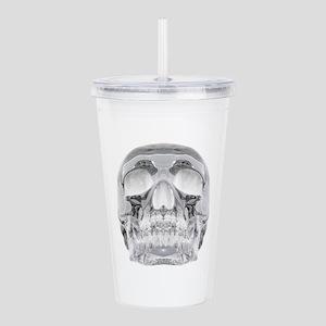 Crystal Skull Acrylic Double-wall Tumbler