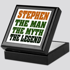 STEPHEN - the legend Keepsake Box