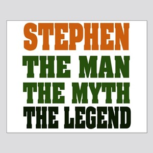 STEPHEN - the legend Small Poster