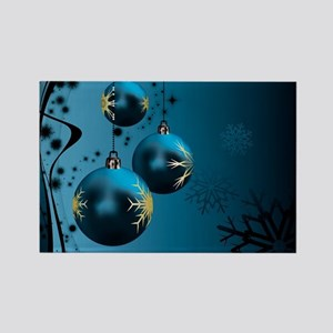 Christmas Ornaments . Rectangle Magnet