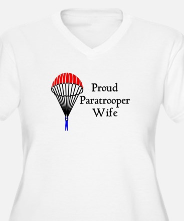 Proud Paratrooper Wife T-Shirt