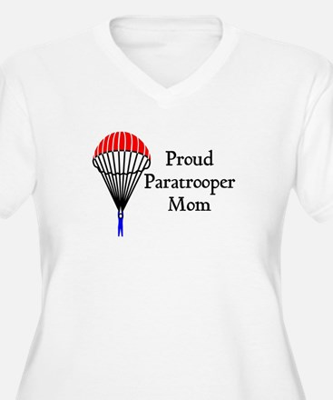 Proud Paratrooper Mom T-Shirt