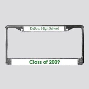 DHS Class of 2009 License Plate Frame