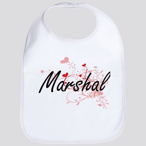 Marshal Artistic Job Design with Hearts Bib