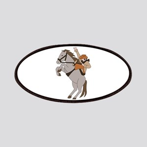 Bucking Bronco Cowboy Patch