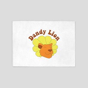 Dandy Lion 5'x7'Area Rug