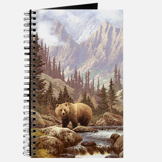 Grizzly Bear Landscape Journal