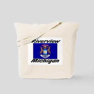 Riverview Michigan Tote Bag