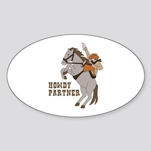 Howdy Partner Sticker