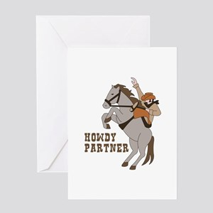 Howdy Partner Greeting Cards