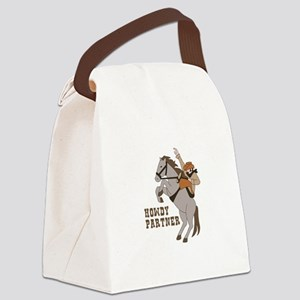 Howdy Partner Canvas Lunch Bag