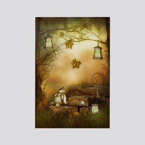 Fairytale Forest Rectangle Magnet