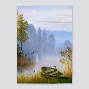 Beautiful Summer Painting 5'x7'Area Rug