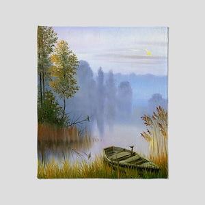 Beautiful Summer Painting Throw Blanket
