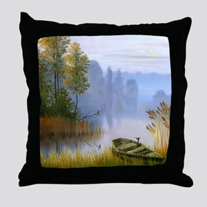 Beautiful Summer Painting Throw Pillow