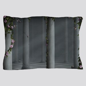 Gothic Rose Columns Pillow Case