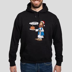 Happy Birthday Jesus Christmas Hoodie (dark)