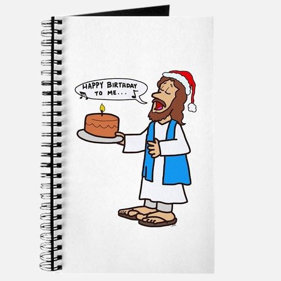 Happy Birthday Jesus Christmas Journal