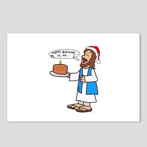 Happy Birthday Jesus Chri Postcards (Package of 8)