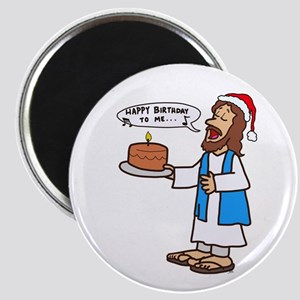 Happy Birthday Jesus Christmas Magnets