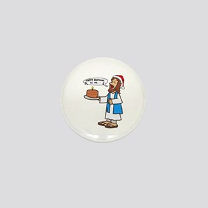 Happy Birthday Jesus Christmas Mini Button