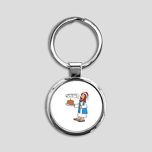 Happy Birthday Jesus Christmas Keychains