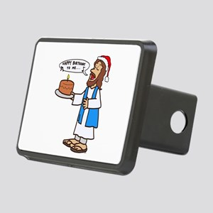 Happy Birthday Jesus Chris Rectangular Hitch Cover