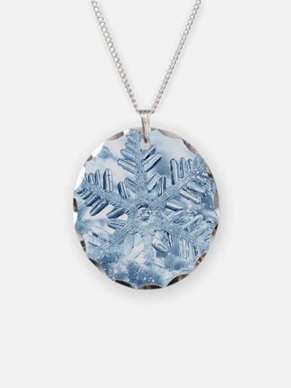 Snowflake Crystals Necklace