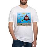Deep SCUBA Fitted T-Shirt