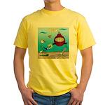 Deep SCUBA Yellow T-Shirt