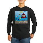 Deep SCUBA Long Sleeve Dark T-Shirt