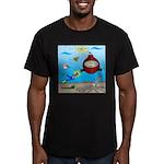Deep SCUBA Men's Fitted T-Shirt (dark)