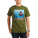 Deep SCUBA Organic Men's T-Shirt (dark)