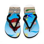 Deep SCUBA Flip Flops