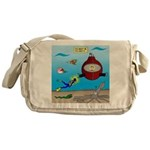 Deep SCUBA Messenger Bag