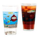 Deep SCUBA Drinking Glass