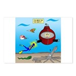 Deep SCUBA Postcards (Package of 8)