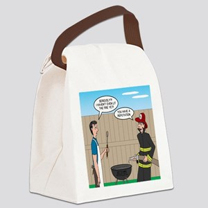 Dangerous Griller Canvas Lunch Bag