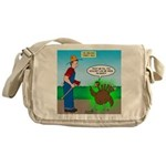 Turkey Hulk Messenger Bag