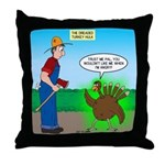 Turkey Hulk Throw Pillow