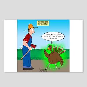 Turkey Hulk Postcards (Package of 8)