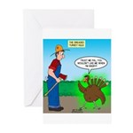 Turkey Hulk Greeting Cards (Pk of 10)