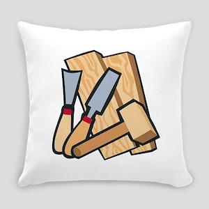 WoodworkingTools Everyday Pillow