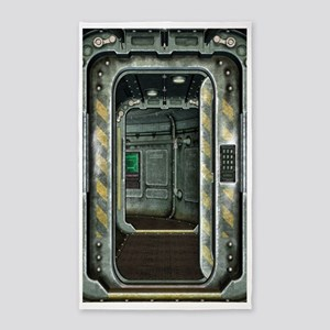 Space Ship Doorway Area Rug