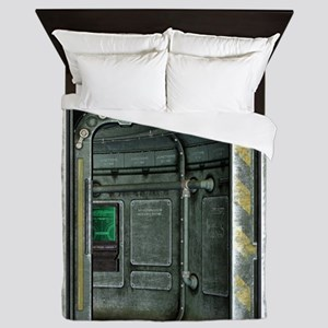 Space Ship Doorway Queen Duvet