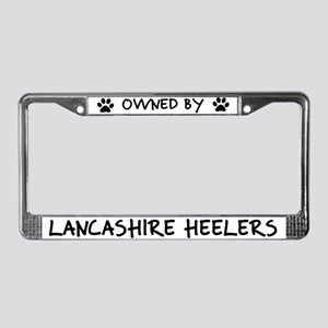 Owned by Lancashire Heelers License Plate Frame