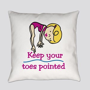 Point Toes Everyday Pillow