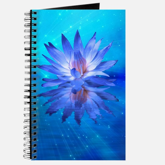 Blue Water Lily Journal