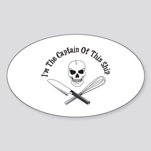 Captain of This Ship Sticker