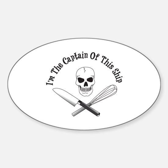Captain of This Ship Decal